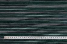 Košilovina černá, tyrkysovo-bílý pruh š.150