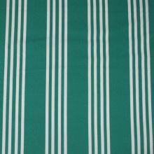 Lehátkovina zelená, biely pruh, š.45