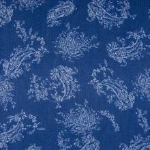 Šatovka 21757 modrá, kašmírový vzor, š.145