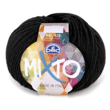 Příze MIXTO 50g, černá - odstín 02