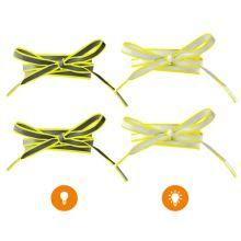 Reflexné šnúrky žlté, dĺžka 120 cm