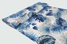 Šatovka biela, modré listy, š.140
