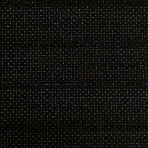 Košeľovina 07752 čierna, drobný vzor, pruhy š.145
