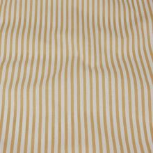 Bavlna béžovo biele pruhy, š.140