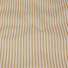 Bavlna béžovo bílé pruhy, š.140