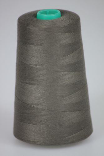 Nit KORALLI polyesterová 120, 5000Y, odstín 7660, hnědá-šedá