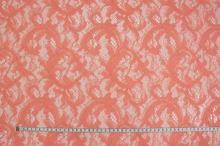 Čipka 16454 lososová, š.130