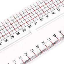 Krajčírske pravítko Prym zakrivené 40 x 65 cm