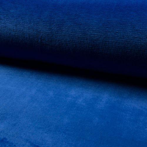 Coral fleece - wellsoft královská modř, š.145
