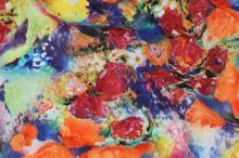 Šatovka N3507, barevný květ š.140