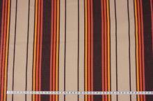 Lehátkovina béžová, oranžovo-hnědý pruh, š.76
