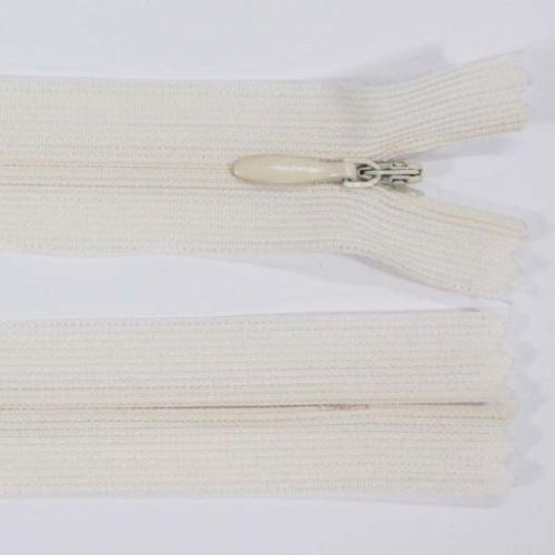 Zip skrytý šatový 3mm délka 18cm, barva 306