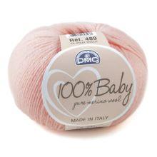 Priadza 100% BABY 50g, ružová - odtieň 041