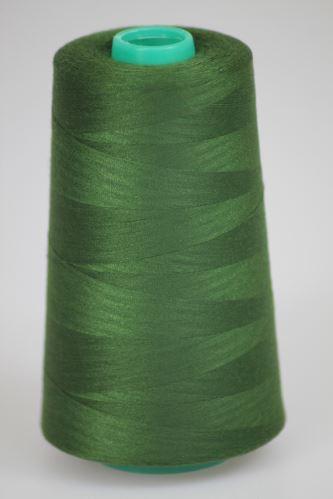 Niť KORALLI polyesterová 120, 5000, odtieň 6645, zelená