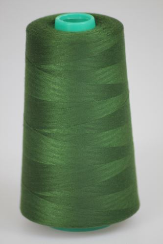 Niť KORALLI polyesterová 120, 5000Y, odtieň 6645, zelená