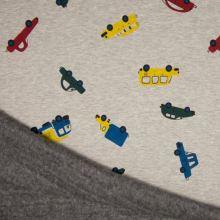 Warmkeeper šedý, farebná auta, š.145