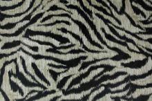 Podšívka zvieracie, béžovo-čierne pruhy, š.145