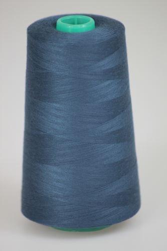 Niť KORALLI polyesterová 120, 5000Y, odtieň 5545, modrá-šedá