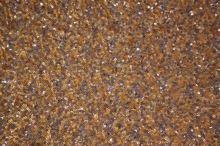 Flitry zlatostříbné jemné kruhy š.130