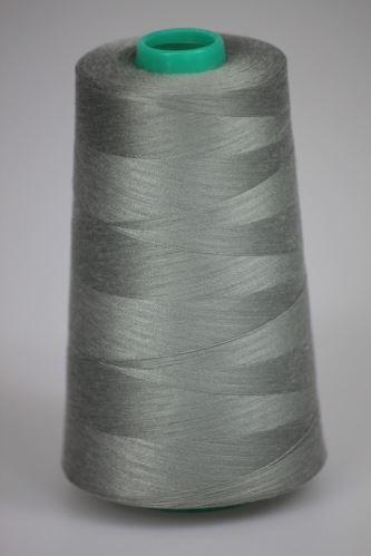 Niť KORALLI polyesterová 120, 5000Y, odtieň 6760, šedá