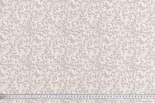 Dekoračná látka béžová s teflónovou úpravou, zámocký vzor, š.150
