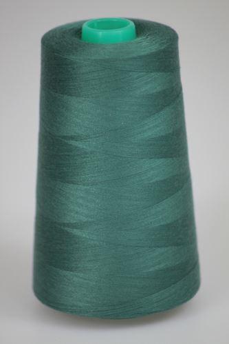 Niť KORALLI polyesterová 120, 5000, odtieň 6610, zelená