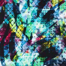 Úplet farebný, abstraktný vzor, š.175