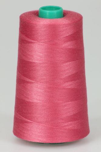 Niť KORALLI polyesterová 120, 5000, odtieň 3355, ružová