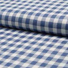 Košilovina bílo-modré káro, š.145
