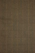 Kostýmovka hnedočierna káro, š.150