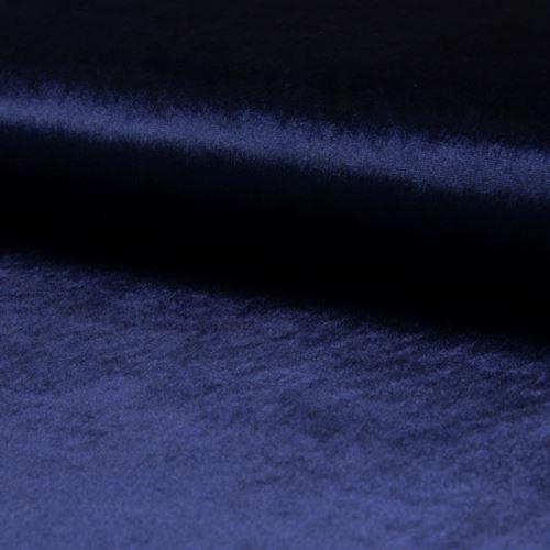 Samet DE LUXE modrý, 260g/m, š.145