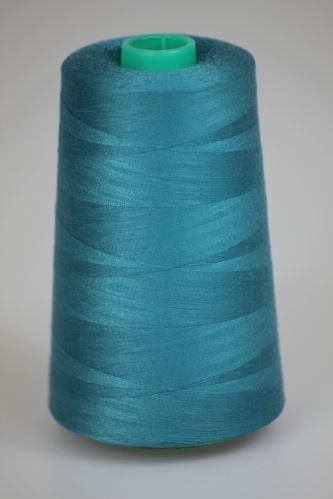 Niť KORALLI polyesterová 120, 5000, odtieň 5740, modrá