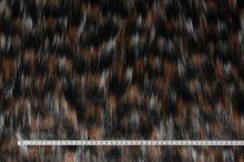 Kožušina trojfarebná 17392, š.150