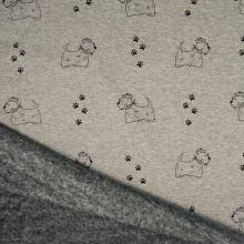 Warmkeeper šedý, psíkovia a stopy, š.145