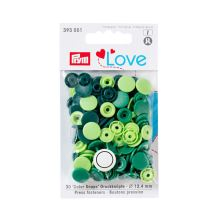 "Patentky Prym Love guľaté ""Color Snaps"" 393001, 12,4 mm"