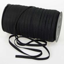 Pruženka ramínková černá, šíře 7mm