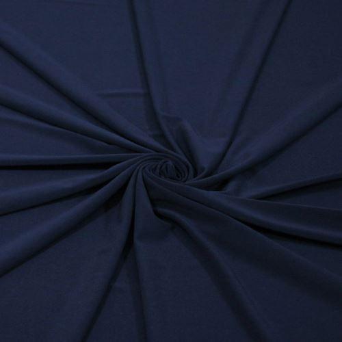 Úplet tmavo modrý 290g/m2, š.150