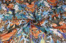 Šifon barevný vzor š.145