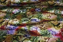 Úplet barevný 15372, zvířecí vzor š.150
