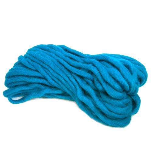 Příze QUICK KNIT 150g, tyrkysově modrá - odstín 603