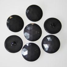Gombík šedý K36-11, priemer 23 mm.