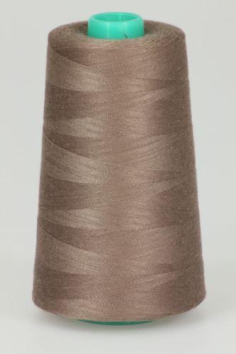 Niť KORALLI polyesterová 120, 5000, odtieň 4840, béžová-hnedá