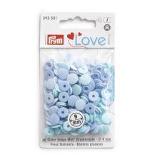 """Patentky Prym Love kulaté """"Color Snaps"""" 393501, 9 mm"""