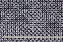 Bavlna modro-bílý vzor, š.145