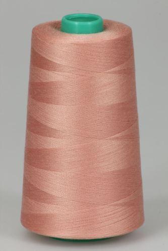 Niť KORALLI polyesterová 120, 5000Y, odtieň 3220, ružová