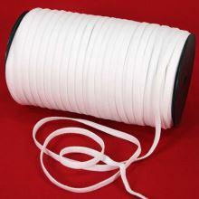 Pruženka ramínková bílá, šíře 7mm