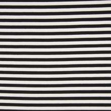 Úplet černo-bílý pruh, š.165