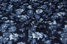 Šatovka tmavo modrá, kvety, š.150