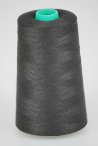Nit KORALLI polyesterová 120, 5000Y, odstín 8795, černá-hnědá