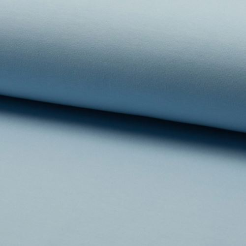 Teplákovina počesaná, světle modrá, š.155